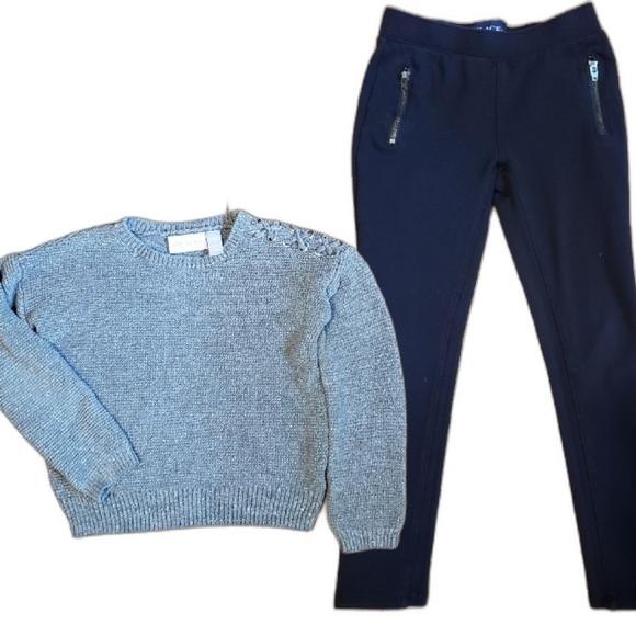 Sweater & Leggings Set (Girls 5/6)